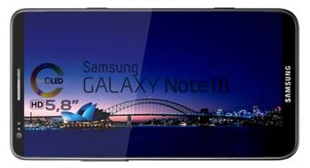 Galaxy Note III может выйти с экранами разных диагоналей