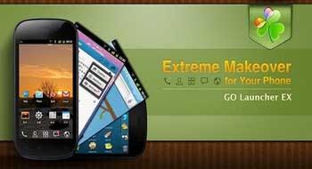 GO Launcher EX – лучший бесплатный лаунчер для Android