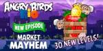 Angry Birds Rio Market mayhem – очередное обновление
