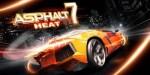 Asphalt 7: Heat – лучший гоночный симулятор для Android.