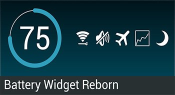 Battery Widget Reborn – контроль за батареей