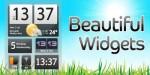 Beautiful Widgets - отличный набор виджетов