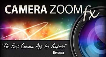 Camera Zoom FX – мощное фото приложение для Android