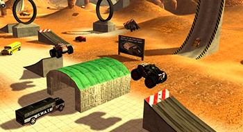 Crash Drive 3D – экстремальные гонки