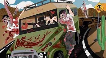 Drive with Zombies 3D – скорость, зомби и стрельба