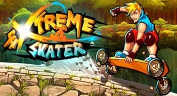 Почувствуй экстрим на скейте с Extreme Skater