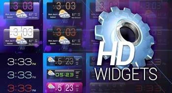 HD Виджеты - виджеты качества HD