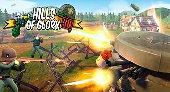 Hills of Glory 3D – уничтожить всех