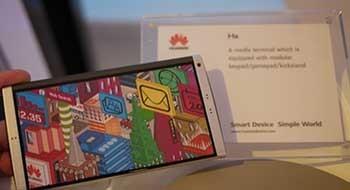 Huawei Ascend Mate – прямой конкурент для Galaxy Note II