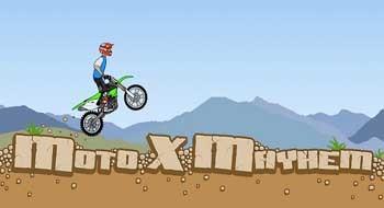 Moto X Mayhem – мотокросс на твоем смартфоне