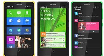Nokia представила три дешёвых Android-смартфона