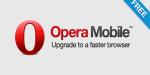 Opera Mobile – старый проверенный браузер