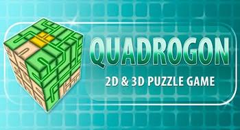 Quadrogon 3D – головоломки в стиле водопроводчика