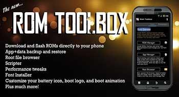 ROM Toolbox Pro – многофункциональный системный монстр