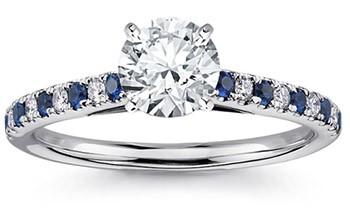 Желающим купить эксклюзивные кольца с сапфирами в Украине