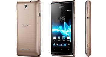 Sony Xperia E – качественный бюджетник