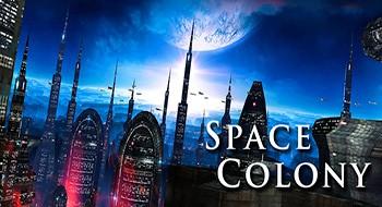 Space Colony – обои космической колонии
