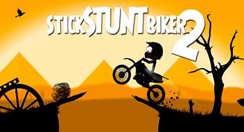 Stick Stunt Biker 2 – экстремальный байкинг