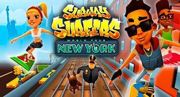 Subway Surfers 1.12.1 – удери от охранника