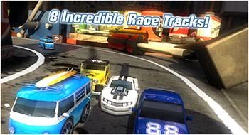 Table Top Racing – гонки на игрушечных машинках