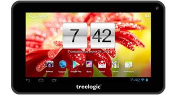 Недорогой, но стильный планшет Brevis 785DC от фирмы Treelogic