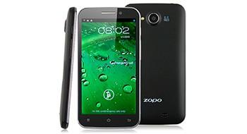 Zopo ZP810 – недорогой и с четырьмя ядрами