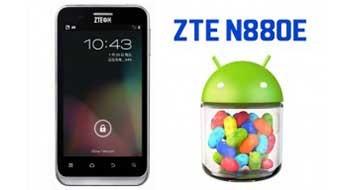 ZTE N880E первый не Nexus на Android 4.2